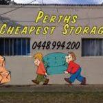 Perth's Cheapest Storage